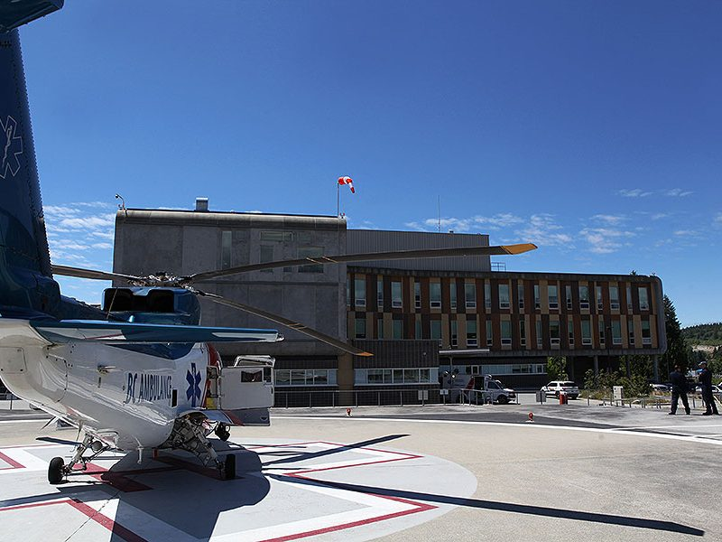 Sechelt Hospital - Air Ambulance